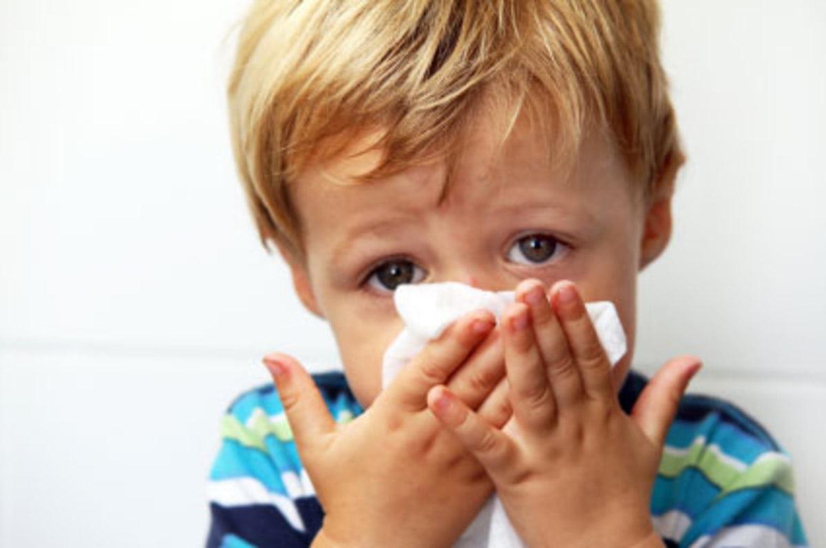 Аллергический ринит у детей: диагностика